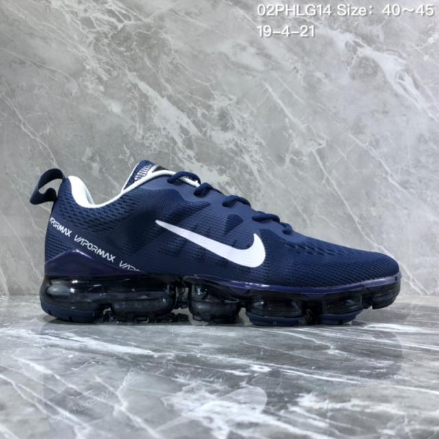 5510f1b1e54c8 Nike Air VaporMax 2019 Bule White Men s Running Shoes NIKE-ST005954 ...