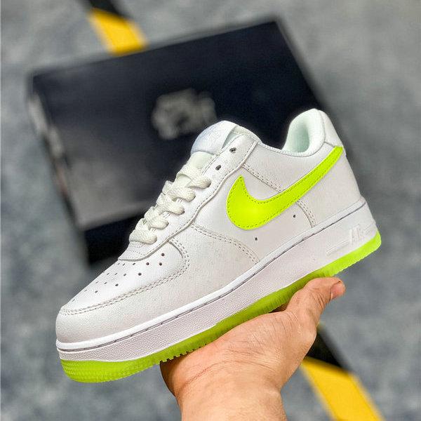 Nike Air Force 1 '07 Essential 315122 111 White Green Womens Sneakers 315122 111QE