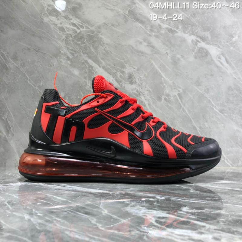 big sale 959d2 a75e6 Nike Air Vapormax Plus Tn-720 Kpu Black Red ...