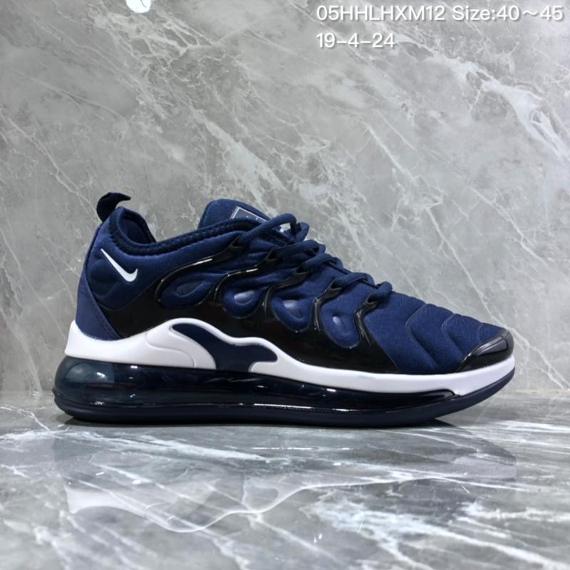 wholesale dealer 2700f 281ee Nike Air Vapormax Plus Tn-720 Bule White Trainer Men's Running Shoes  NIKE-ST005987