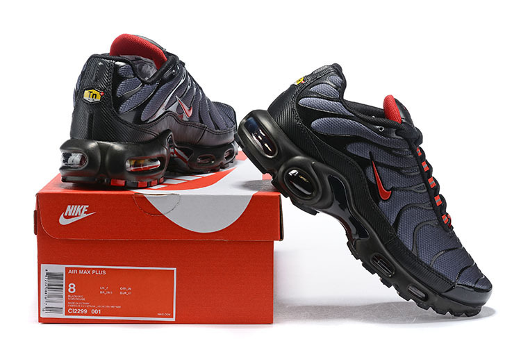 separation shoes 233d3 7df37 Mens Nike Air Max TN Black Red CI2299 001 Males Running Shoes CI2299-001