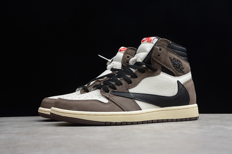 f5a9742c29c Nike Air Jordan 1 Retro High Travis Scott CD4487-100 Mens Athletic  Basketball Shoes