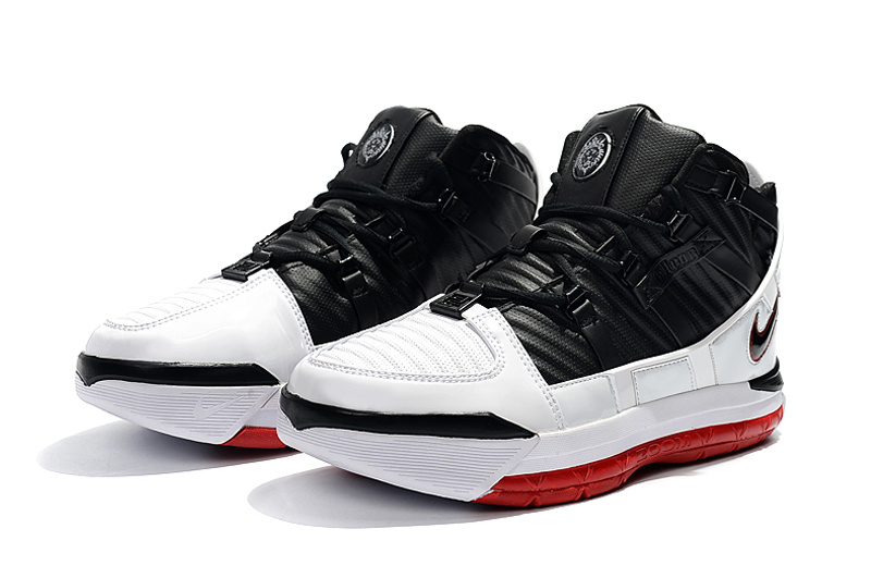 f8e832d8f5b Nike Zoom LeBron 3 Home White   Varsity Crimson   Black AO2434-101 Men s  Basketball