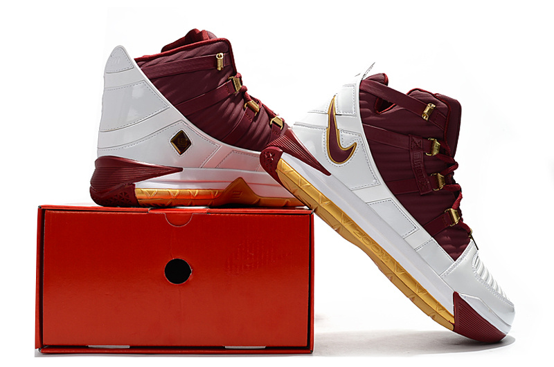 the latest 55135 9fcbe Nike Zoom LeBron III CTK QS Christ The King ...