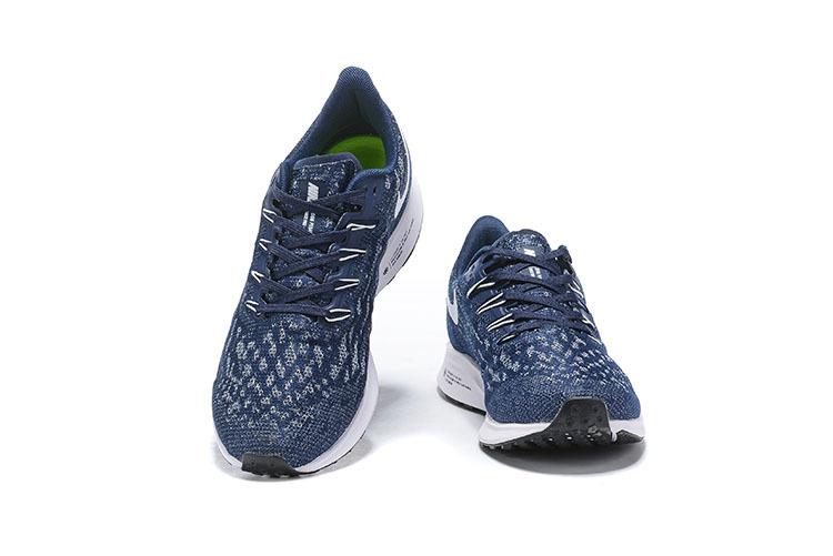 6f5804c35f Nike Air Zoom Pegasus 36 Navy Blue White AQ2203 401 Men's Casual Shoes