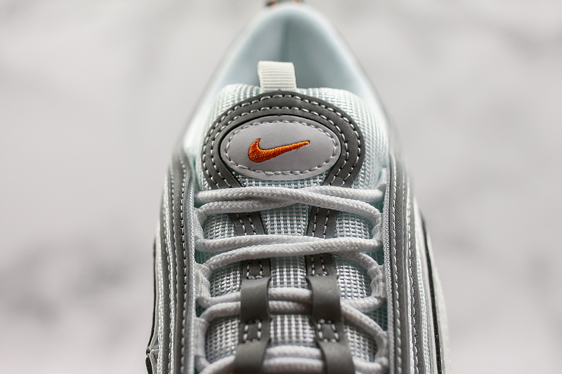 more photos 9fb68 af2a9 Nike Air Max 97 White Cone-Metallic Silver BQ4567-100 Mens Womens Casual
