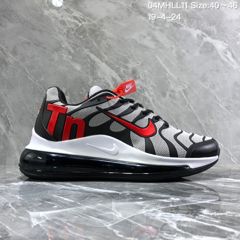 71071c6a2d5 Nike Air Vapormax Plus Tn-720 Kpu Black Gray Trainer Men s Running ...