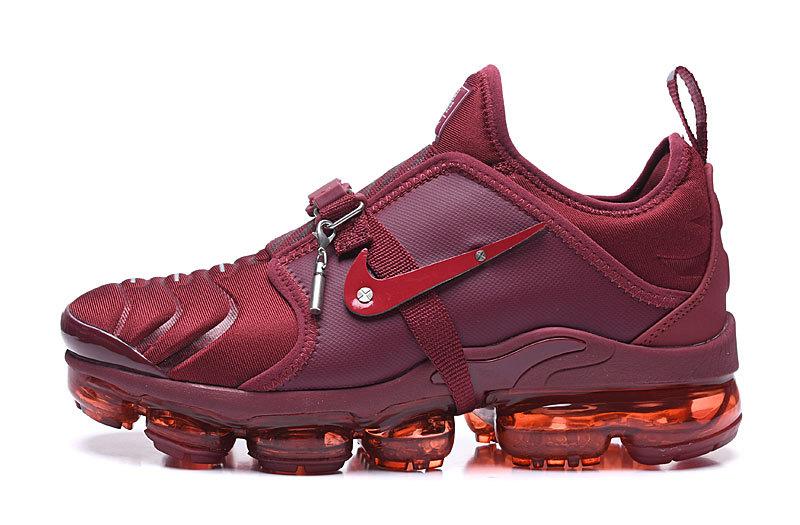 sports shoes c8816 7c83d Nike Air VaporMax Tn Red Men's Running Shoes NIKE-ST006305
