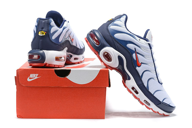 los angeles 14887 f2695 Mens Nike Wmns Air Max Plus TN Se Navy Blue Red White Males Running Shoes  NIKE-ST006076