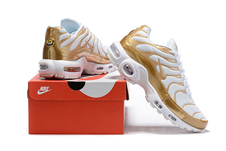 New Style Nike Air Max Plus TN 2018 Triple Silver Wolf Grey Metal Men's Running Shoes Sneakers