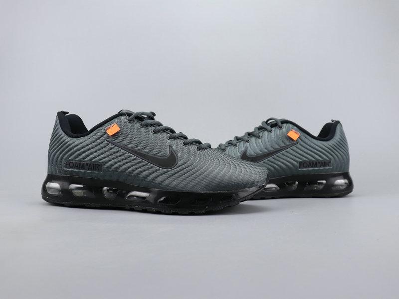promo code 9b748 22e4c OFF WHITE x NIKE AIR MAX FOAM 2019 Black Gray Men's Running Shoes  NIKE-ST006148