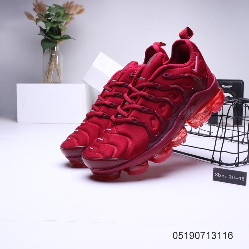 meet 284e0 d3f29 Nike Air VaporMax Tn Red Womens Men's Running Shoes NIKE-ST006317