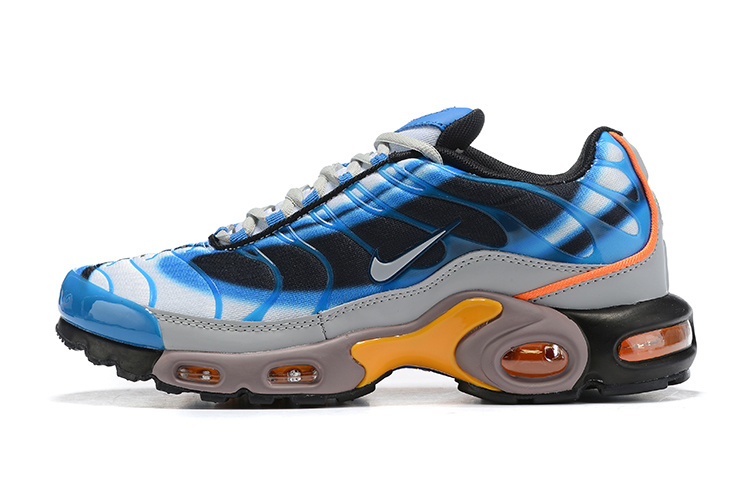 best website 9b57e 76f28 Mens Nike Wmns Air Max Plus TN Se Blue Orange Black White Males Running  Shoes NIKE-ST006068