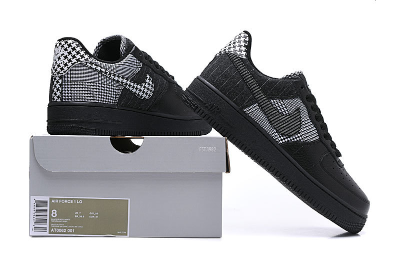 Ammco bus : Nike air force 1 black and white suede