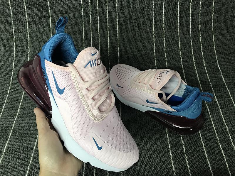 897ec4bd9f Nike Air Max 270 Hyper Pink Blue White Women's Casual Shoes NIKE ...