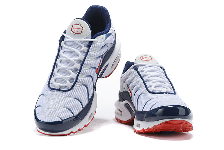 Mens Nike Wmns Air Max Plus TN Se Navy Blue Red White Males Running Shoes NIKE ST006076