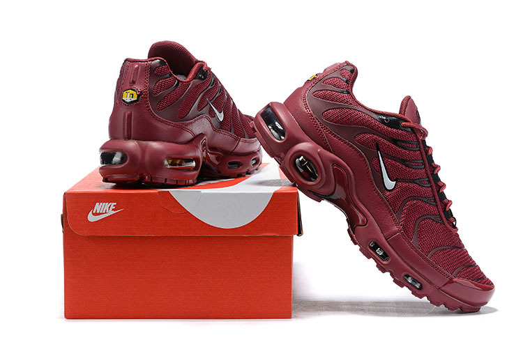 huge discount de946 26c59 Mens Nike Wmns Air Max Plus TN Se Burgundy White Males Running Shoes  NIKE-ST006075
