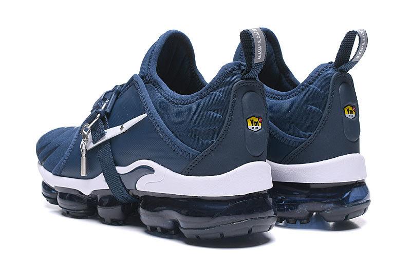 big sale d2c08 76e7f Nike Air VaporMax Tn White Bule Men's Running Shoes NIKE-ST006310