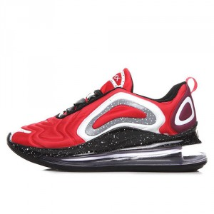 5a965bdf1c Nike Air Max 720 October Red Grey White Men's Casual Shoes