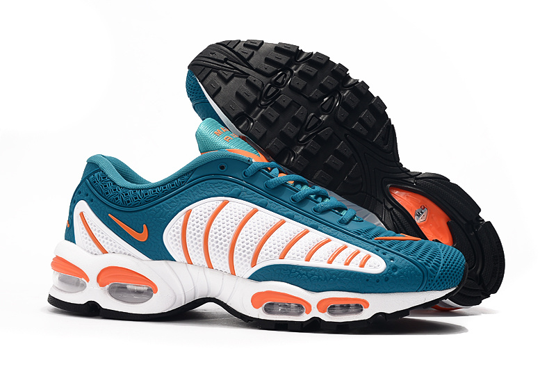 ab3418adb9 Mens Nike Air Max TN/Tailwind 4 Bule White Orange Males Running Shoes