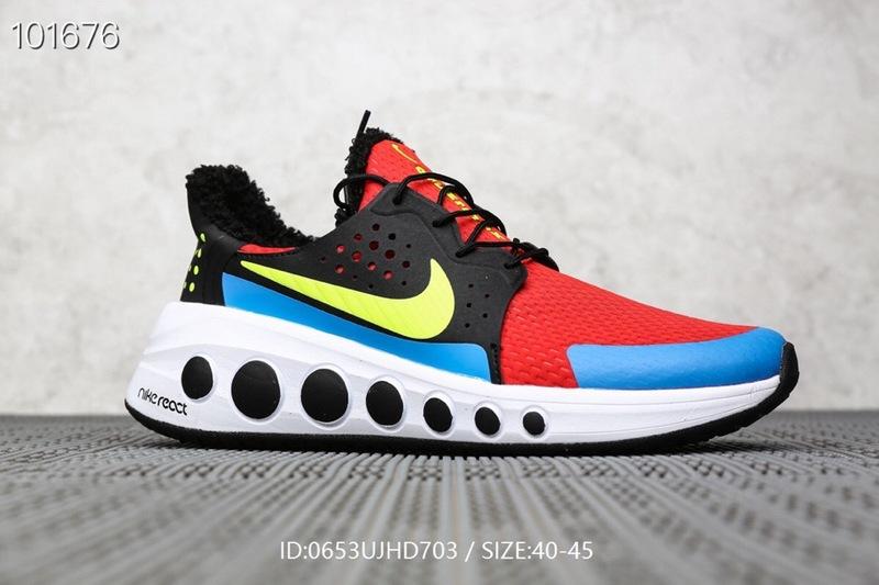 Nike React 2019 CRUZR MAX Multi Color Men's Casual Shoes Sneakers NIKE ST006508