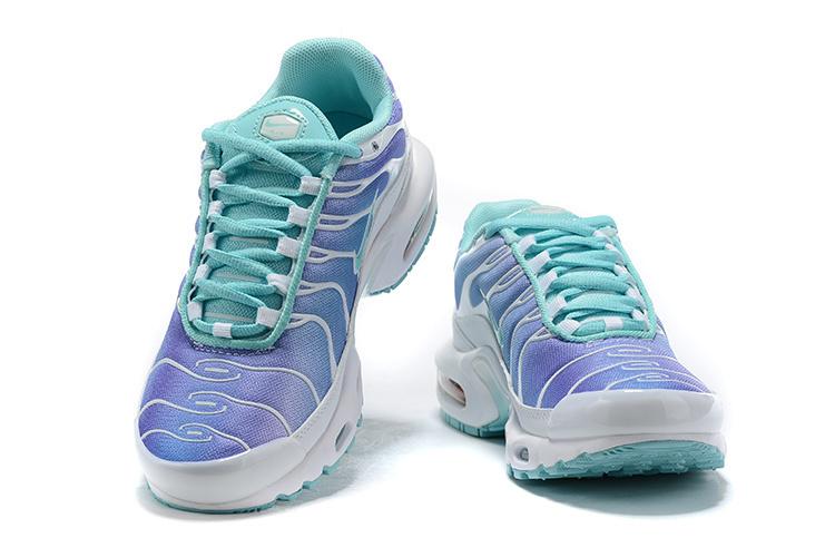 huge discount 4eedf aad1b Womens Nike Air Max Plus TN Light Aqua BV1239 100 Running Shoes BV1239-100