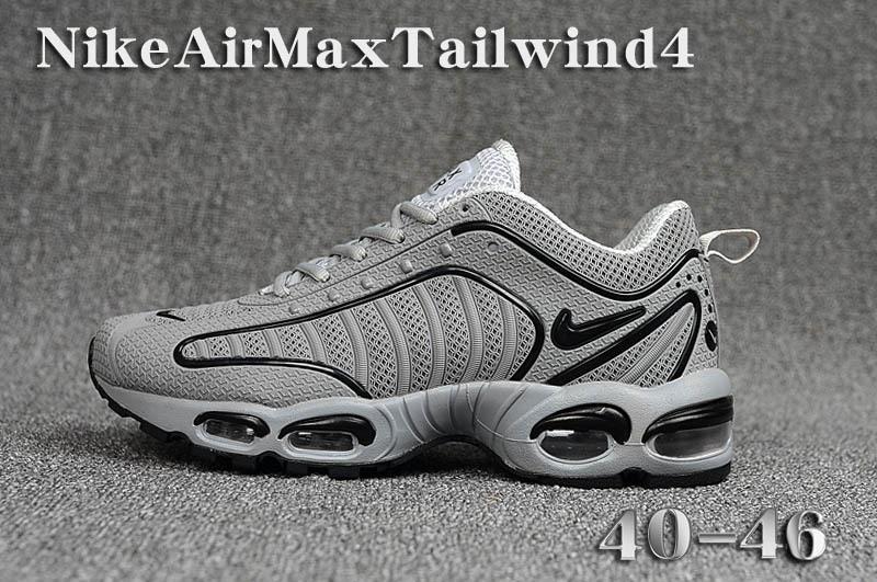 buy popular 9b730 b3251 Mens Nike Air Max TN/Tailwind 4 Gray Males Running Shoes NIKE-ST006323