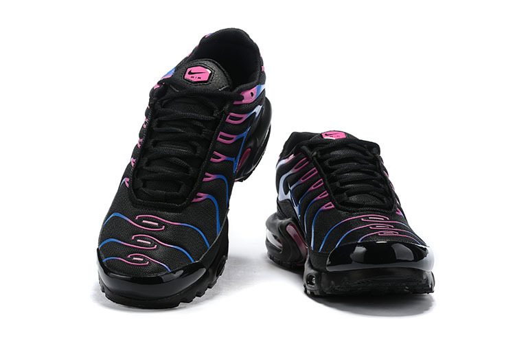 new products fc73a 44da4 Womens Nike Air Max Plus TN Miami Vice Black Blue Fuchsia Pink CI2368 001  Running Shoes CI2368-001