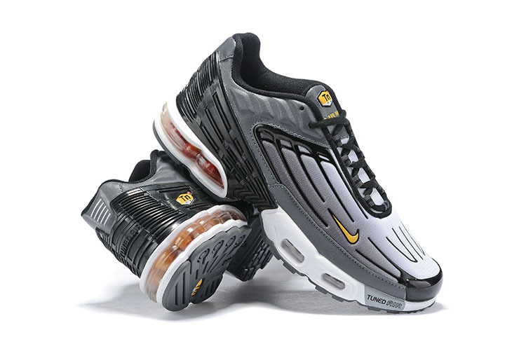 promo code 91972 cbe85 Mens Nike Tuned Air Max Plus Tn Charcoal Gray White Black Males Running  Shoes NIKE-ST006424