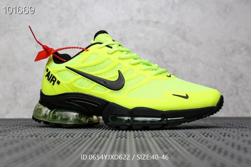 Mens Nike Air Max Plus TN Green Black Males Running Shoes NIKE ST006498