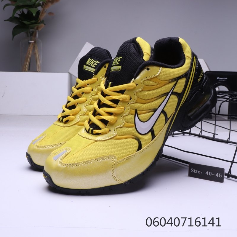 buy online 72d11 7727c Mens Nike Air Max Torch 4 Tn Black Yellow Males Running Shoes NIKE-ST006357
