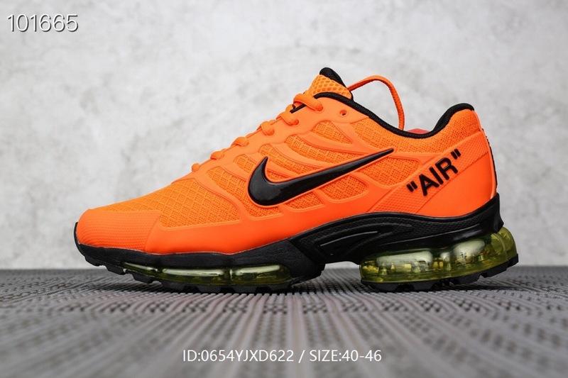 pretty nice 08b11 ba660 Mens Nike Air Max Plus TN Orange Black Males Running Shoes NIKE-ST006493