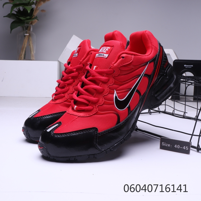 wholesale dealer ecdac d1a0b Mens Nike Air Max Torch 4 Tn Black Red Males Running Shoes NIKE-ST006359