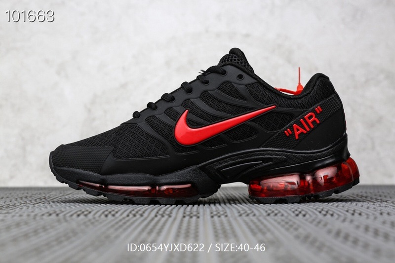 Mens Nike Air Max Plus TN Red Black Males Running Shoes NIKE ST006496