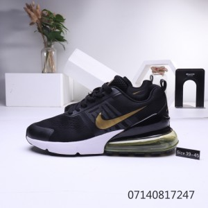 Nike Air Max 270 Black White Multicolor Mens Women's Casual Shoes NIKE ST006271