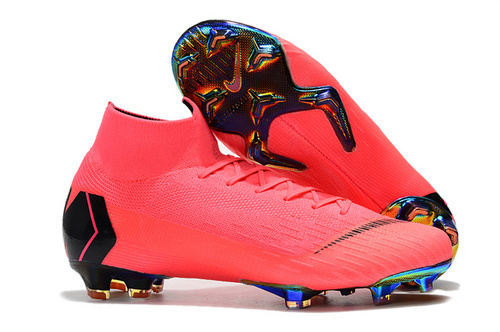sports shoes cf5bf 163d4 NIKE Mercurial Superfly VI 360 Elite FG Pink Black Men's Soccer Cleat Shoes  NIKE-ST006739