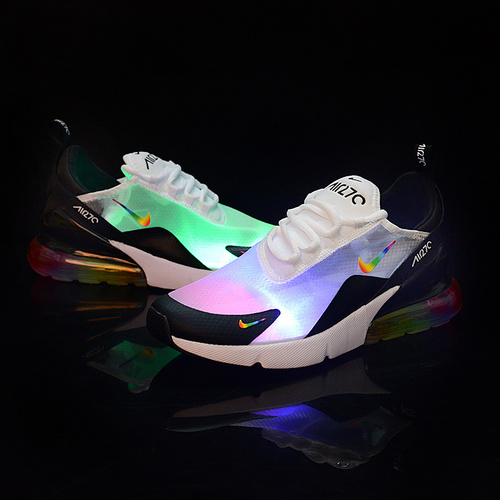 Nike Air Max 270 Ventilation White Multicolor Mens Womens Casual Shoes NIKE ST006757