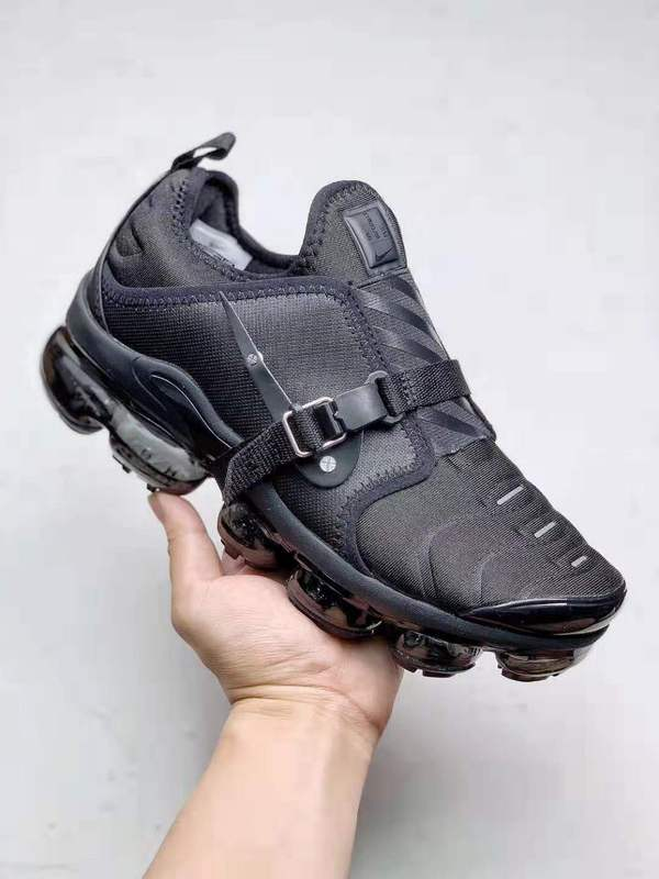 reputable site 5b66c dea74 Nike Air VaporMax Plus Paris Works in Progress Triple Black CI1506-006  Trainer Men's Running Shoes CI1506-006