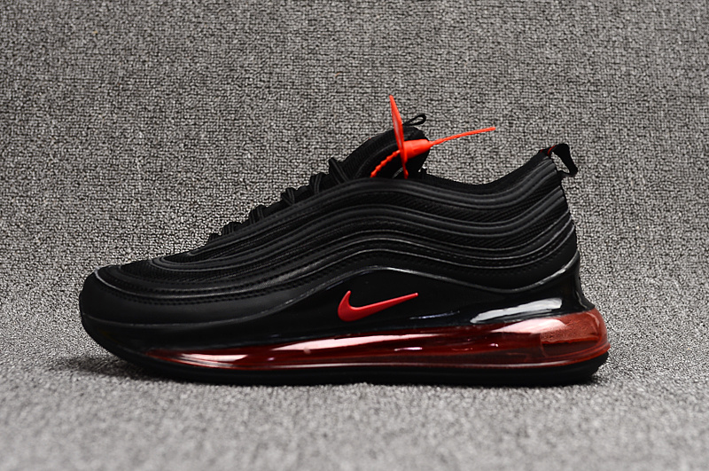 By B Hints || Mens Black And Red Nike Air Max 97