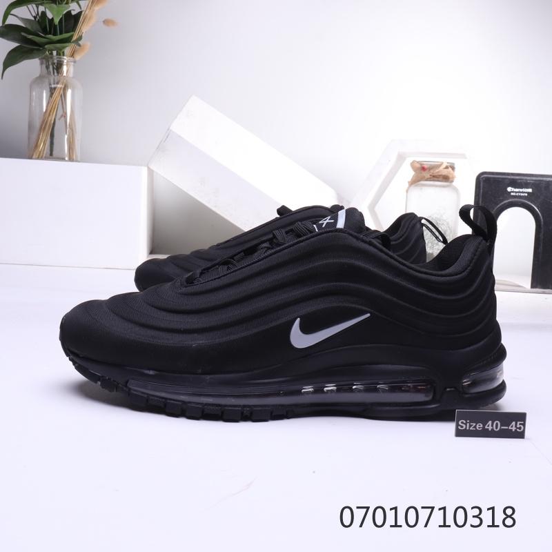 Nike Air Max 97 3D Black Mens Running Shoes NIKE ST006543