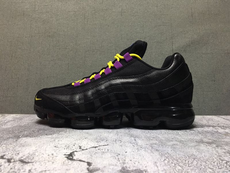 Nike Air Max 95 TT Black Purple Men's Casual Shoes NIKE ST006685