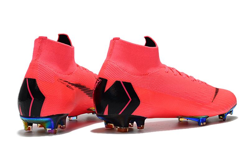 sports shoes 6177d 1cbc6 NIKE Mercurial Superfly VI 360 Elite FG Pink Black Men's Soccer Cleat Shoes  NIKE-ST006739