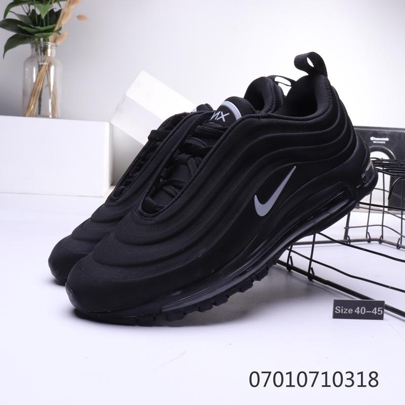 the best attitude 1ee75 bdf21 Nike Air Max 97 3D Black Mens Running Shoes NIKE-ST006543