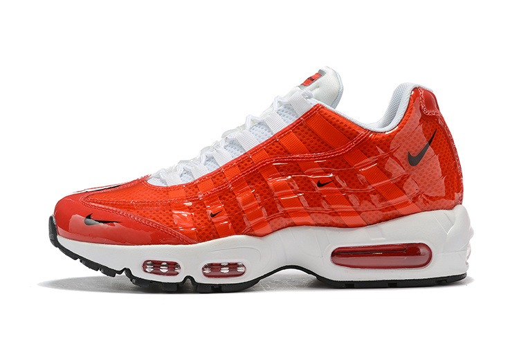 separation shoes d3ddd 48062 Nike Air Max 95 BY Christian October Red White Black Women's Men's Casual  Shoes NIKE-ST006782
