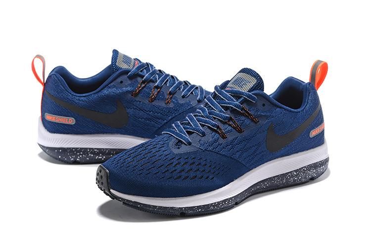 new style 92e2f 3e3fc Nike Zoom Winflo 4 Navy Blue Orange White 921704 004 Men's Casual Shoes  Sneakers NIKE-ST006801