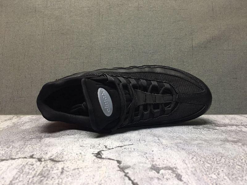 Nike Air Max 95 TT Black Red Men's Casual Shoes NIKE ST006687