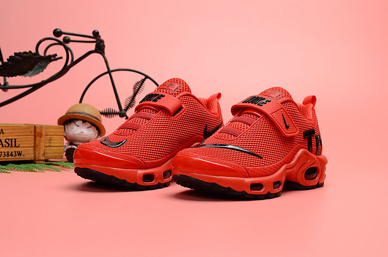 quality design bb247 6349e Nike Air Max Plus Tn KPU Bright Red Black Kids Running Shoes NIKE-ST006706