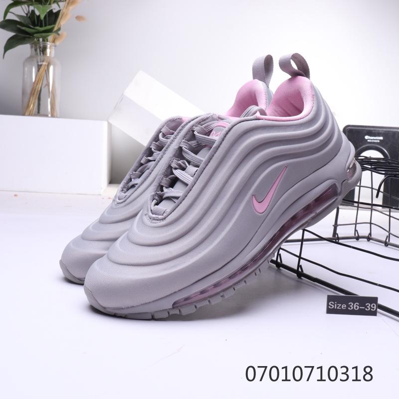 Nike Air Max 97 3D Grey Pink Womens Running Shoes NIKE ST006538