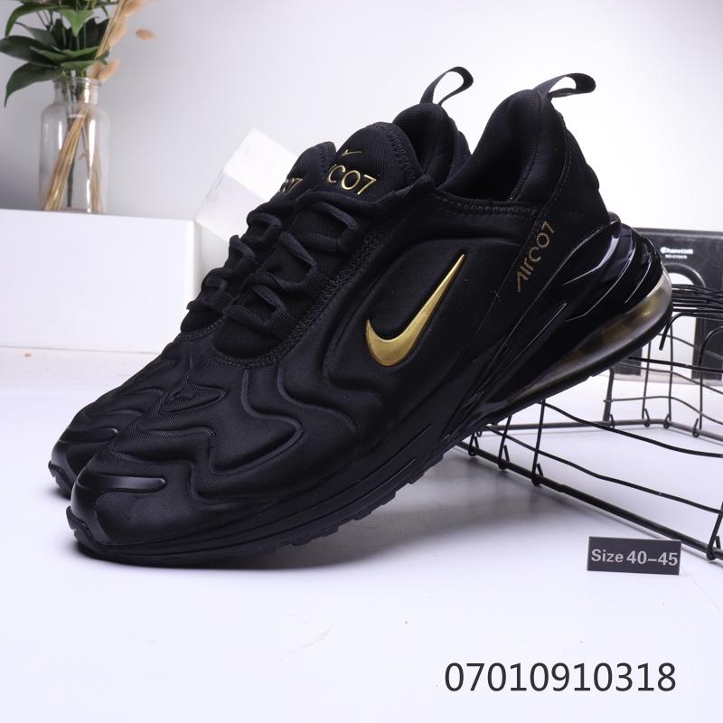 Men's Size Nike Air Max 270 Midnight NavyBlack White AH8050 400 Best