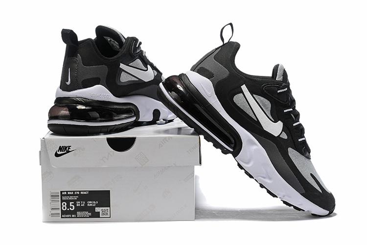 Nike Air Max 270 React Black Off Noir Ao4971 001 Men S